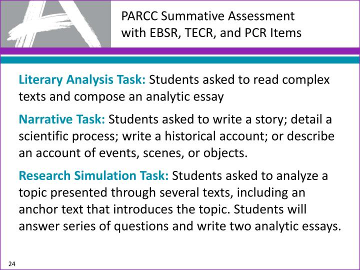 PARCC Summative Assessment
