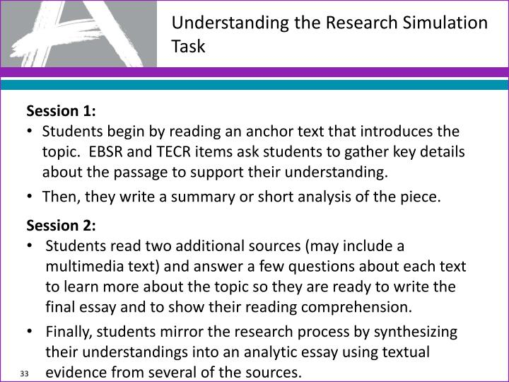Understanding the Research Simulation