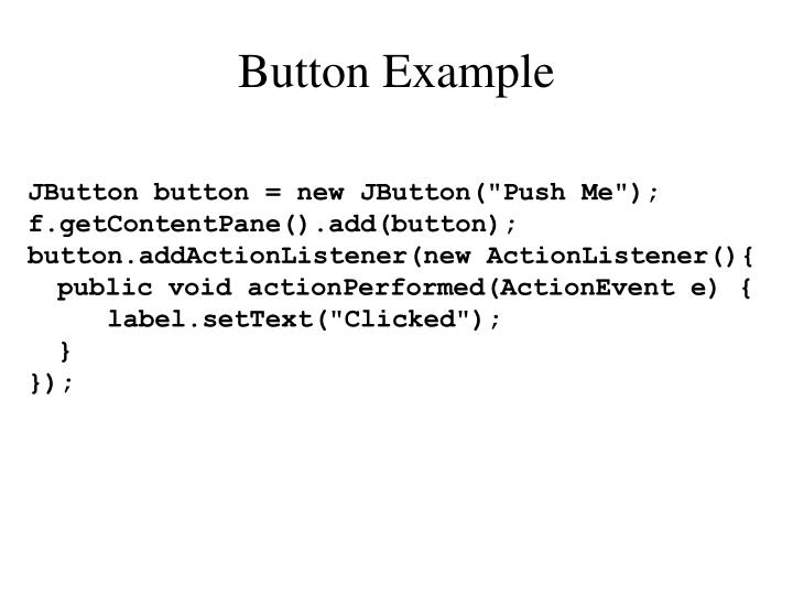 Button Example
