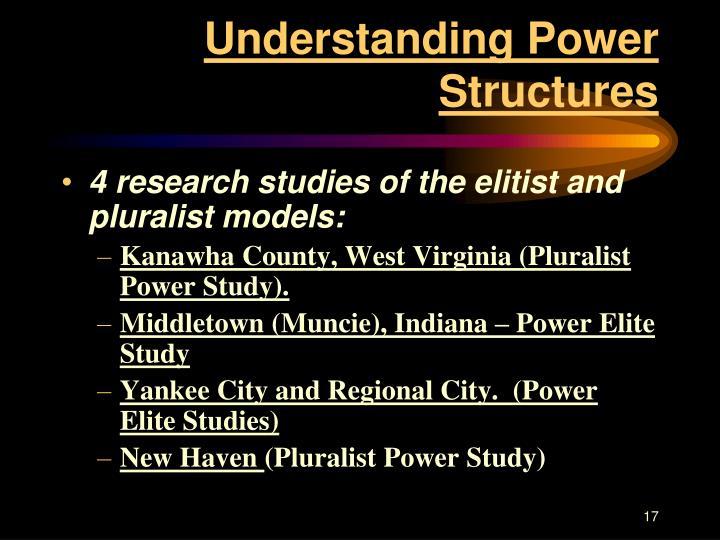 Understanding Power Structures