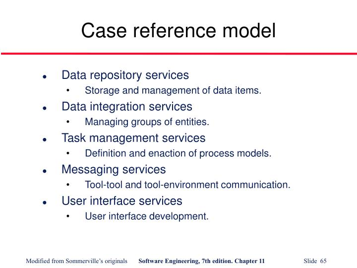 Case reference model