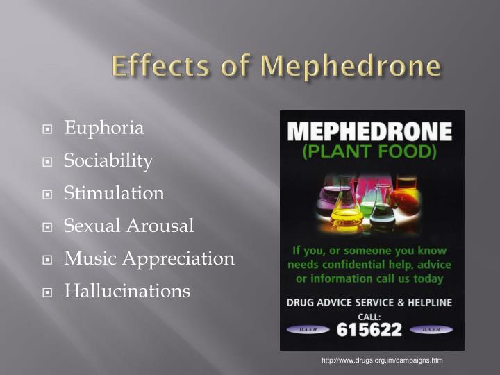 Effects of Mephedrone