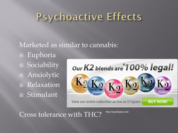 Psychoactive Effects
