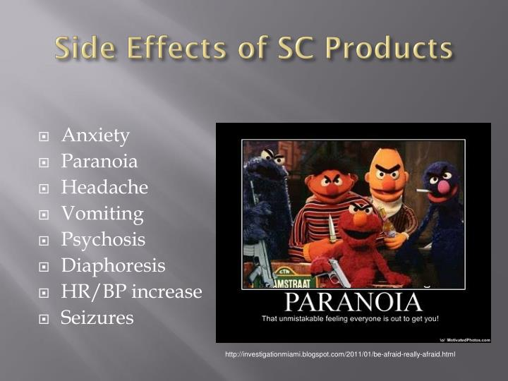 Side Effects of SC Products