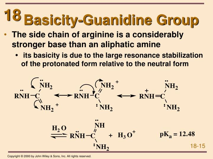 Basicity-Guanidine Group