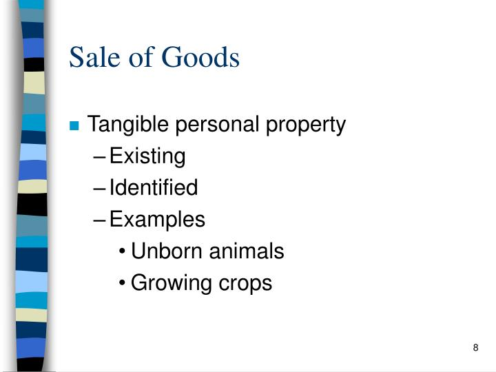 Sale of Goods