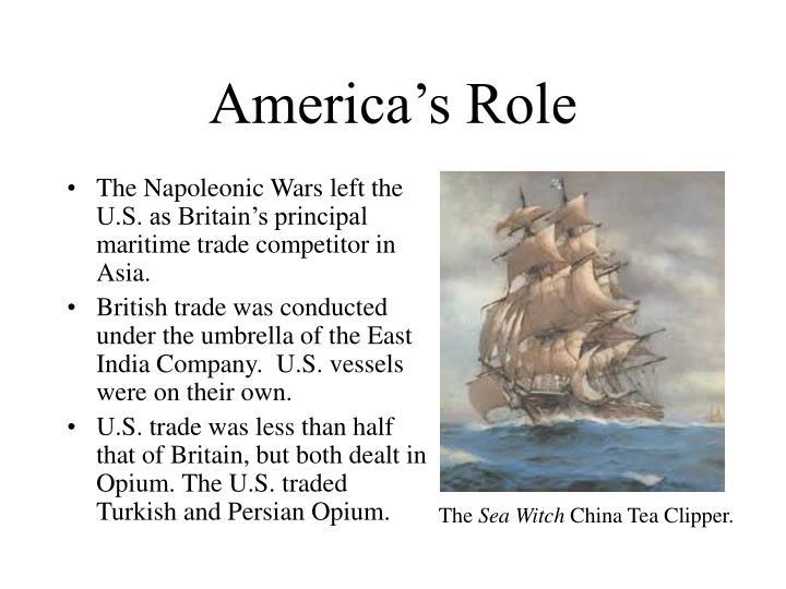 America's Role