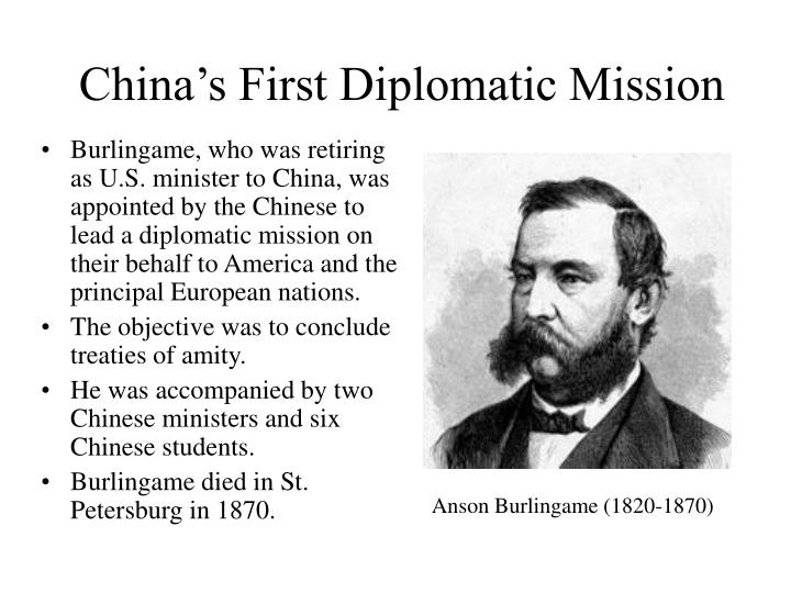 China's First Diplomatic Mission