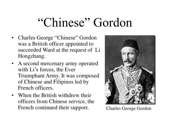 """Chinese"" Gordon"