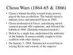 chosu wars 1864 65 1866