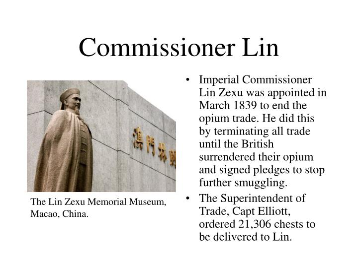 Commissioner Lin