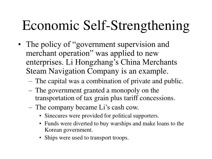 Economic Self-Strengthening