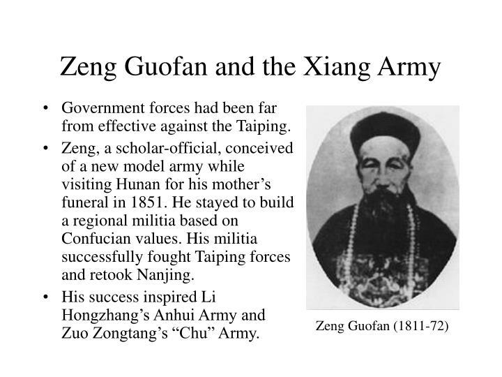 Zeng Guofan and the Xiang Army