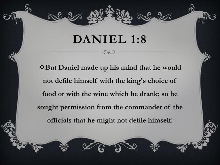 Daniel 1:8