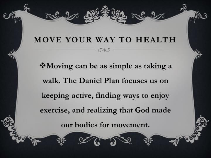 MOVE Your Way to Health