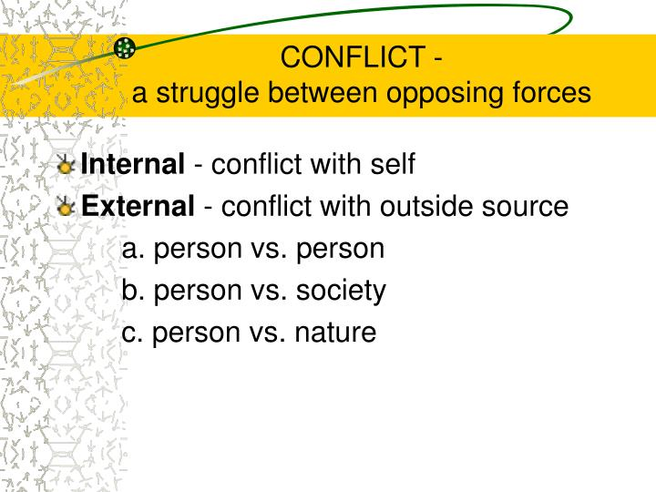 CONFLICT -