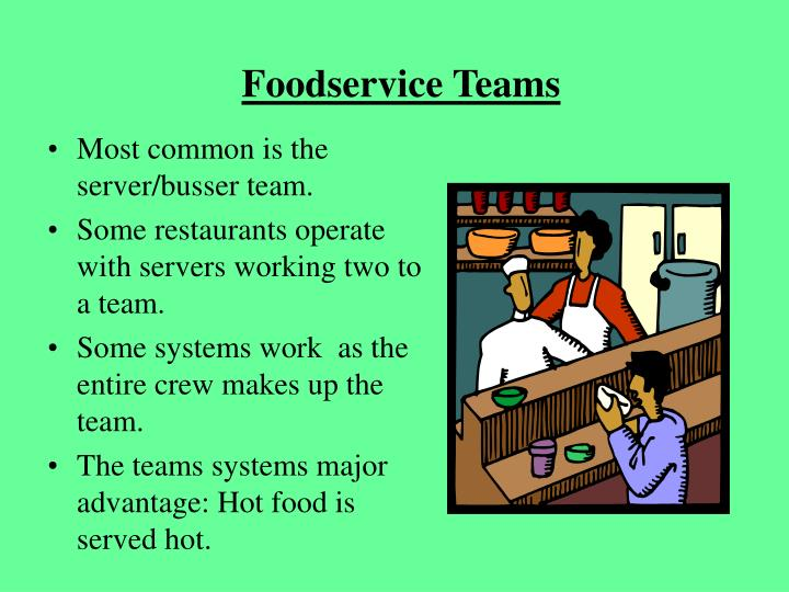 Foodservice Teams