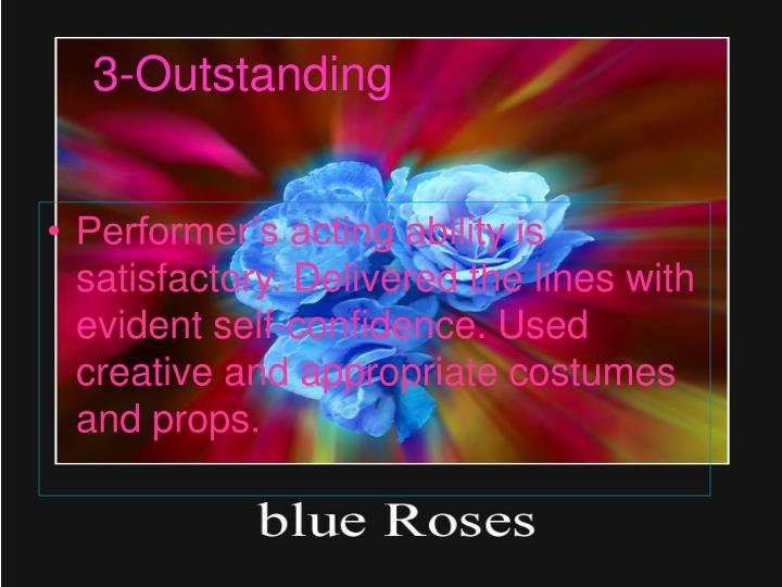 3-Outstanding