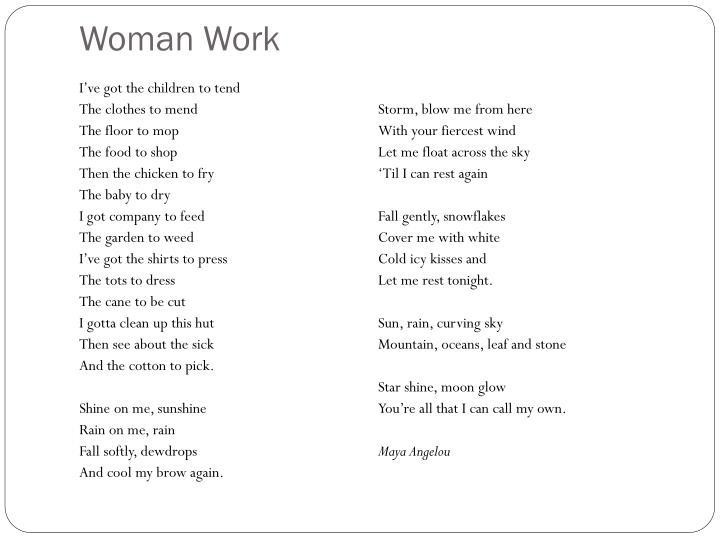 Woman Work
