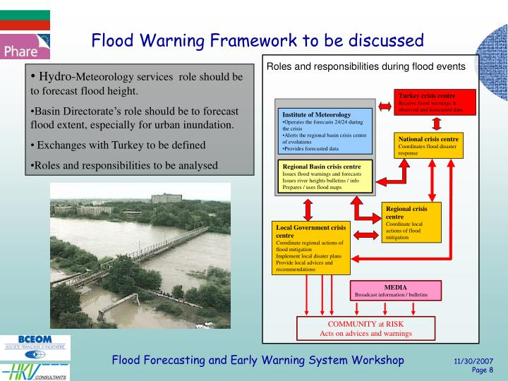 Flood Warning Framework to be discussed