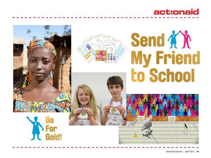 ActionAid schools  |  April 2012  |