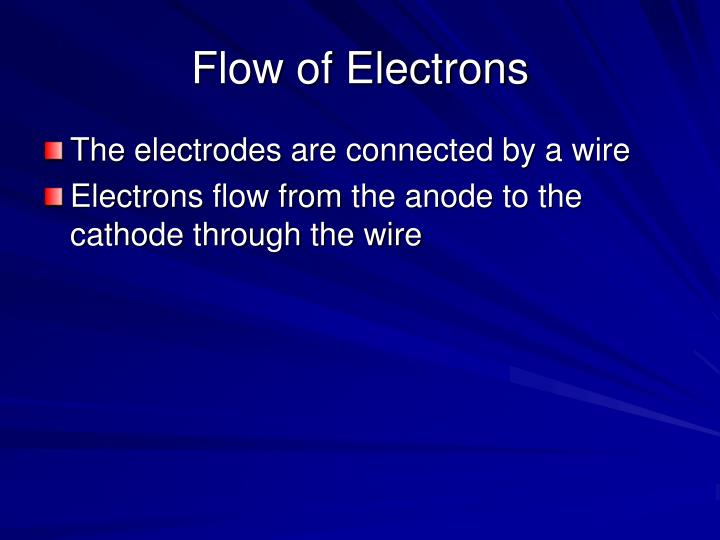 Flow of Electrons