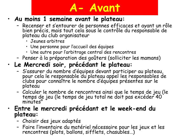 A- Avant