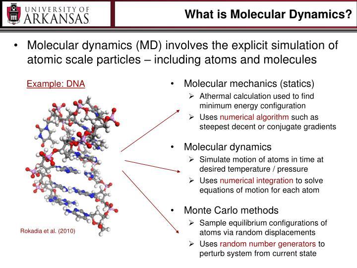 What is Molecular Dynamics?