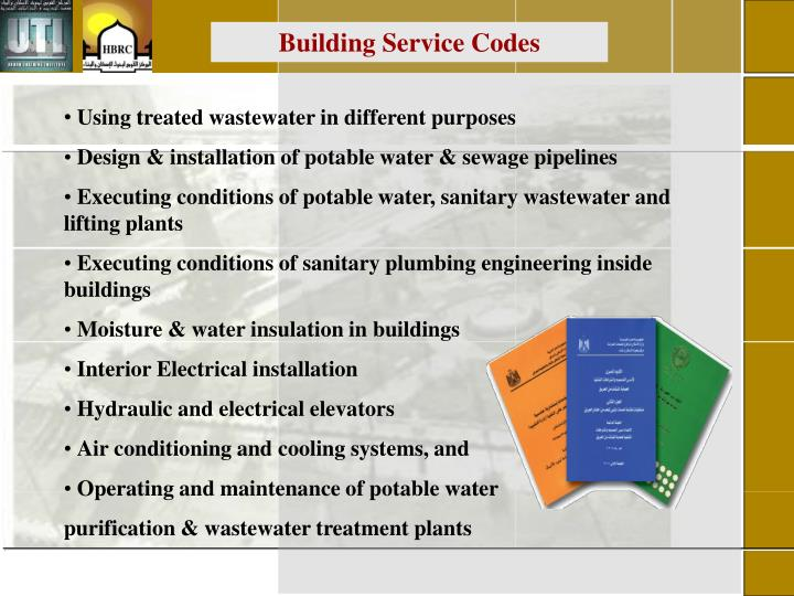 Building Service Codes