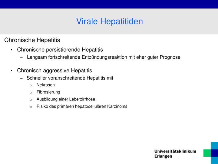 Chronische Hepatitis
