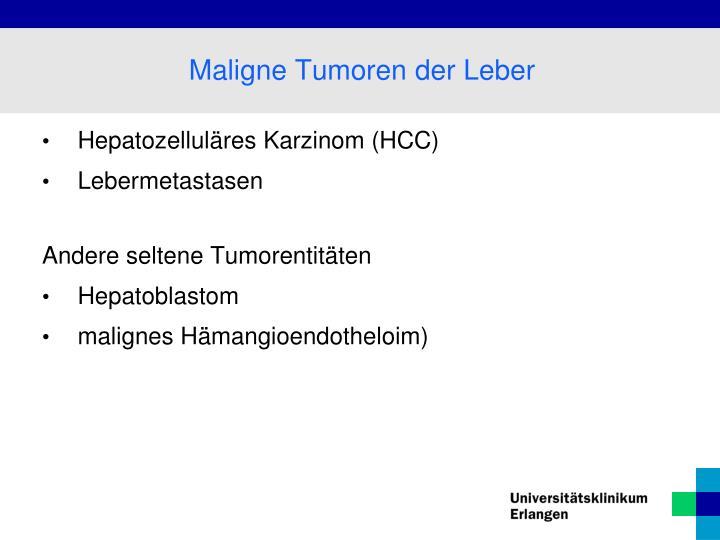 Hepatozelluläres