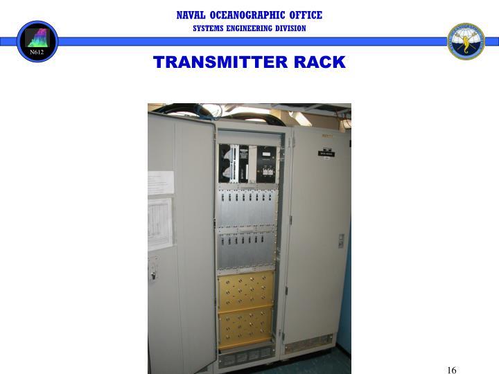 TRANSMITTER RACK
