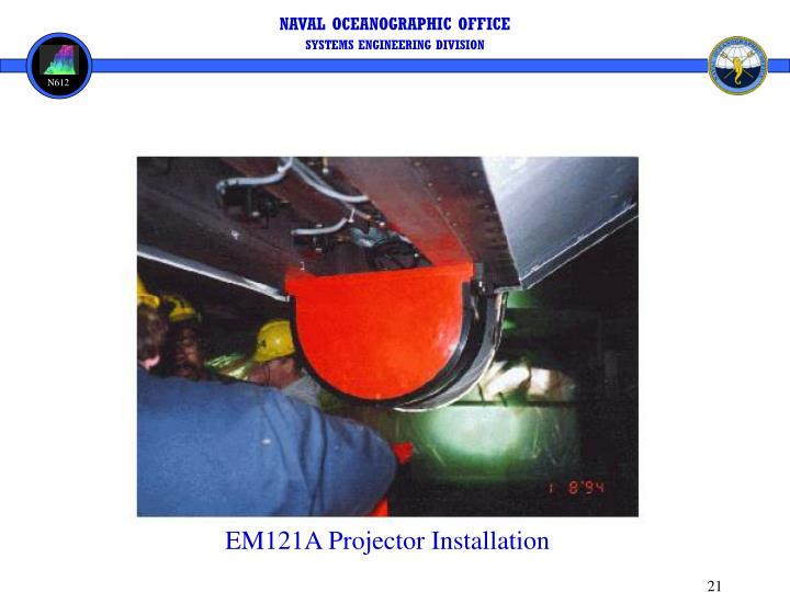 EM121A Projector Installation