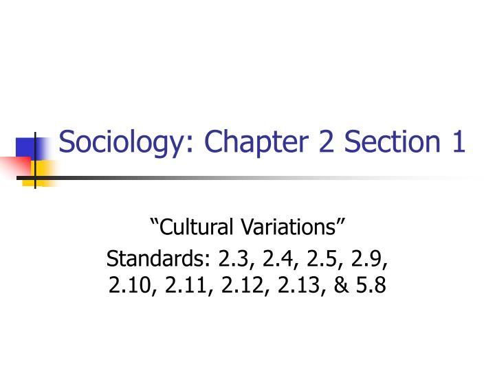 sociology chapters 1 4 Sociology james henslin chapter summarypdf free download here culture 2 henslin, james, essentials of sociology: chapter 4: social structure.