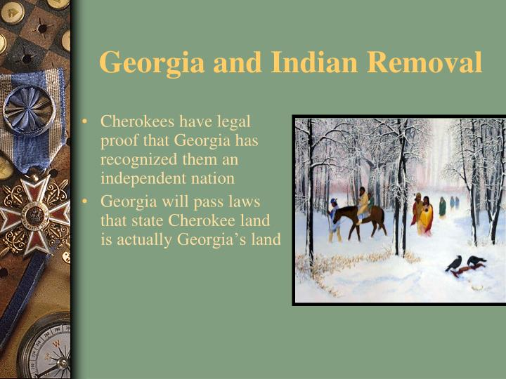 Georgia and Indian Removal