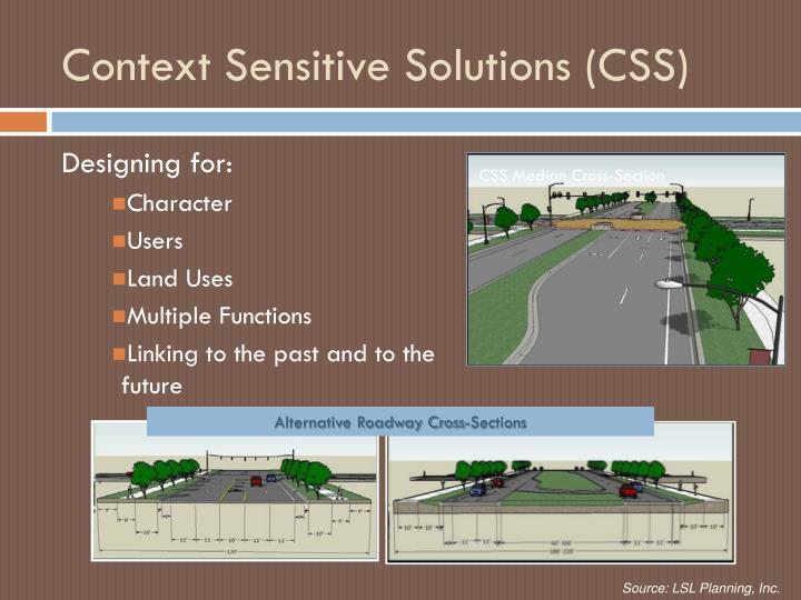 Context Sensitive Solutions (CSS)