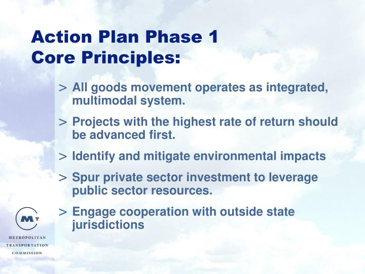 Action Plan Phase 1