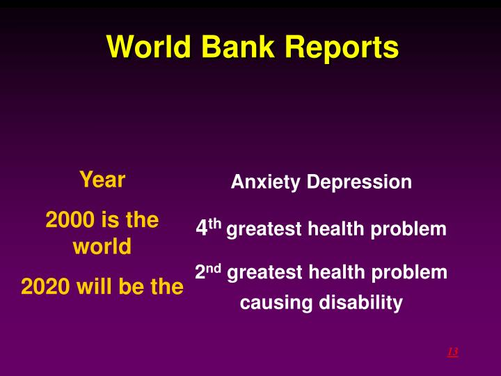 World Bank Reports