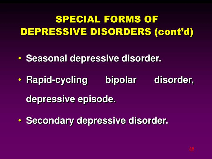 SPECIAL FORMS OF