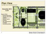 plan view iowa state center courtyard improvements