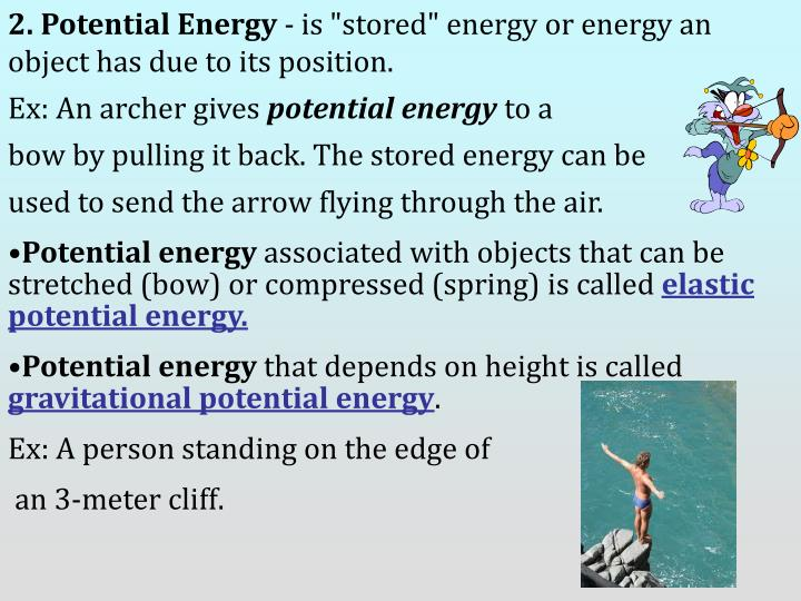 2. Potential Energy