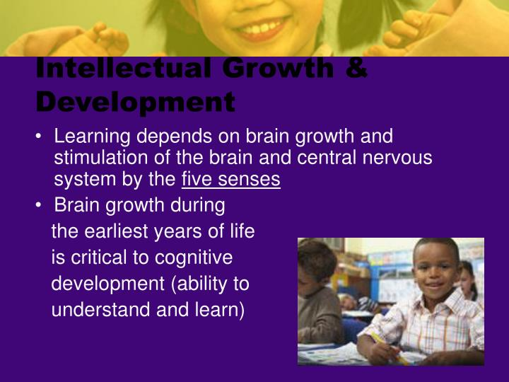 Intellectual growth development