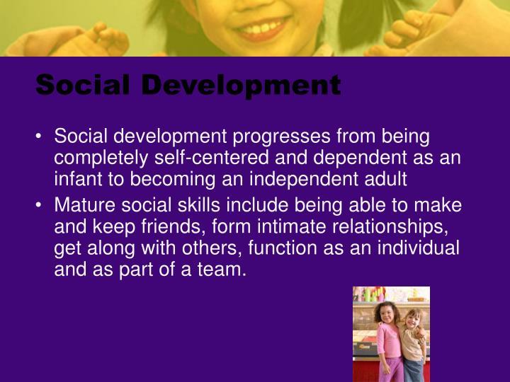 Social Development