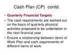 cash plan cp contd3