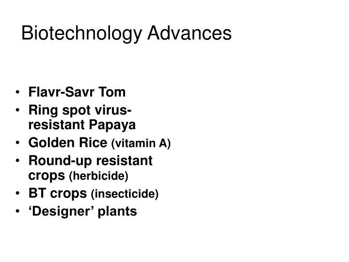 Biotechnology Advances