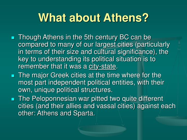 What about Athens?