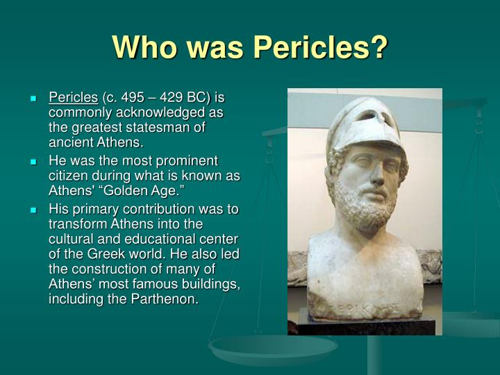 Who was pericles