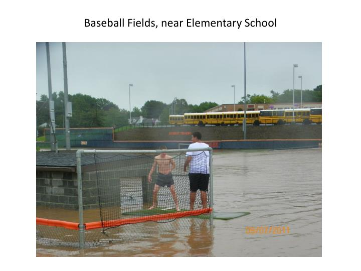 Baseball Fields, near Elementary School