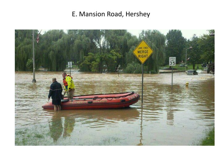 E. Mansion Road, Hershey