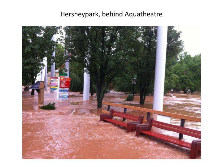 Hersheypark, behind Aquatheatre